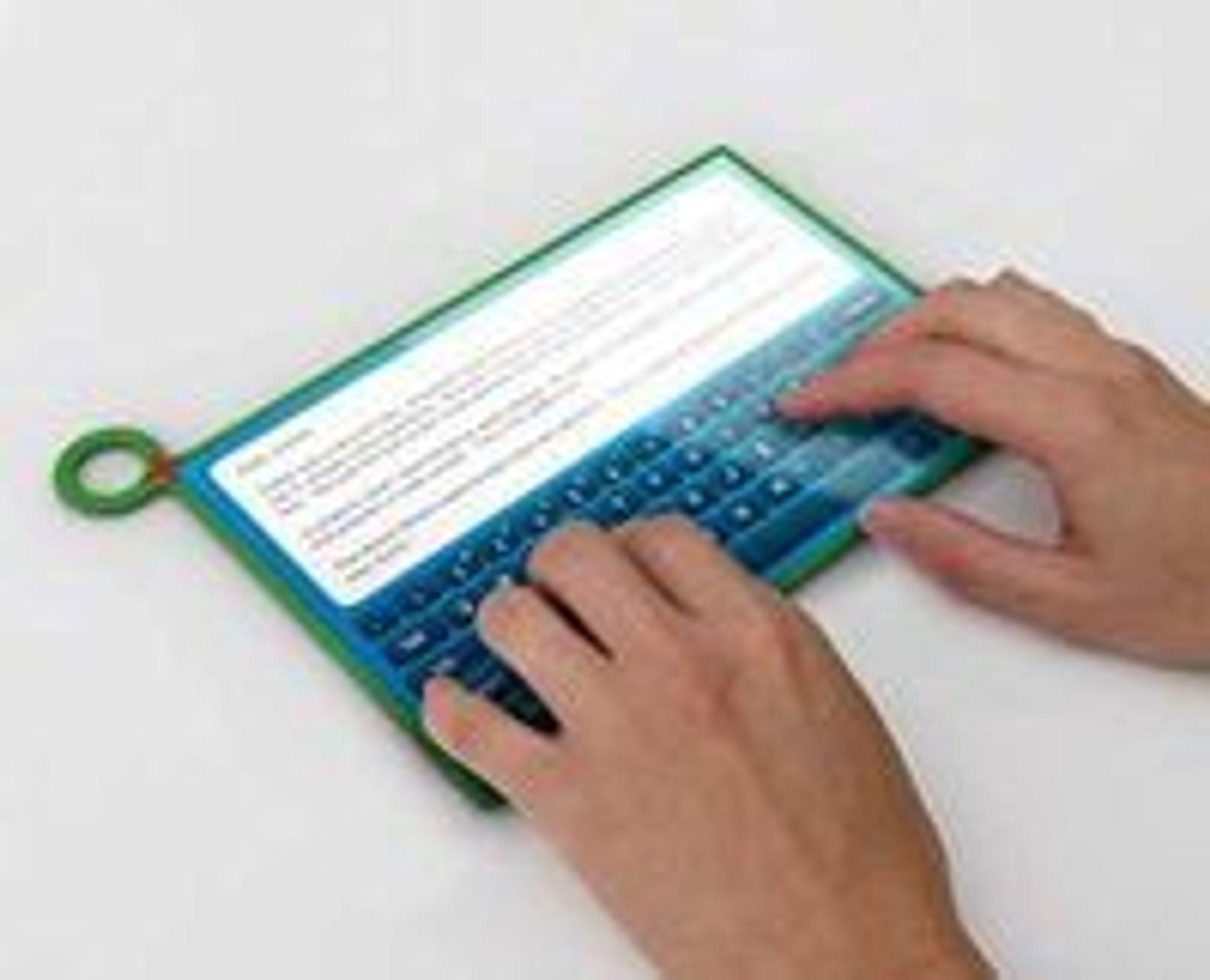 XO3 skal få virtuelt tastatur.