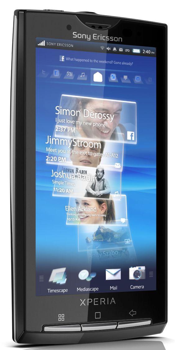 Det er kun Sony Ericssons opprinnelige Xperia X10-modell som skal bli oppdatert til Android 2.3