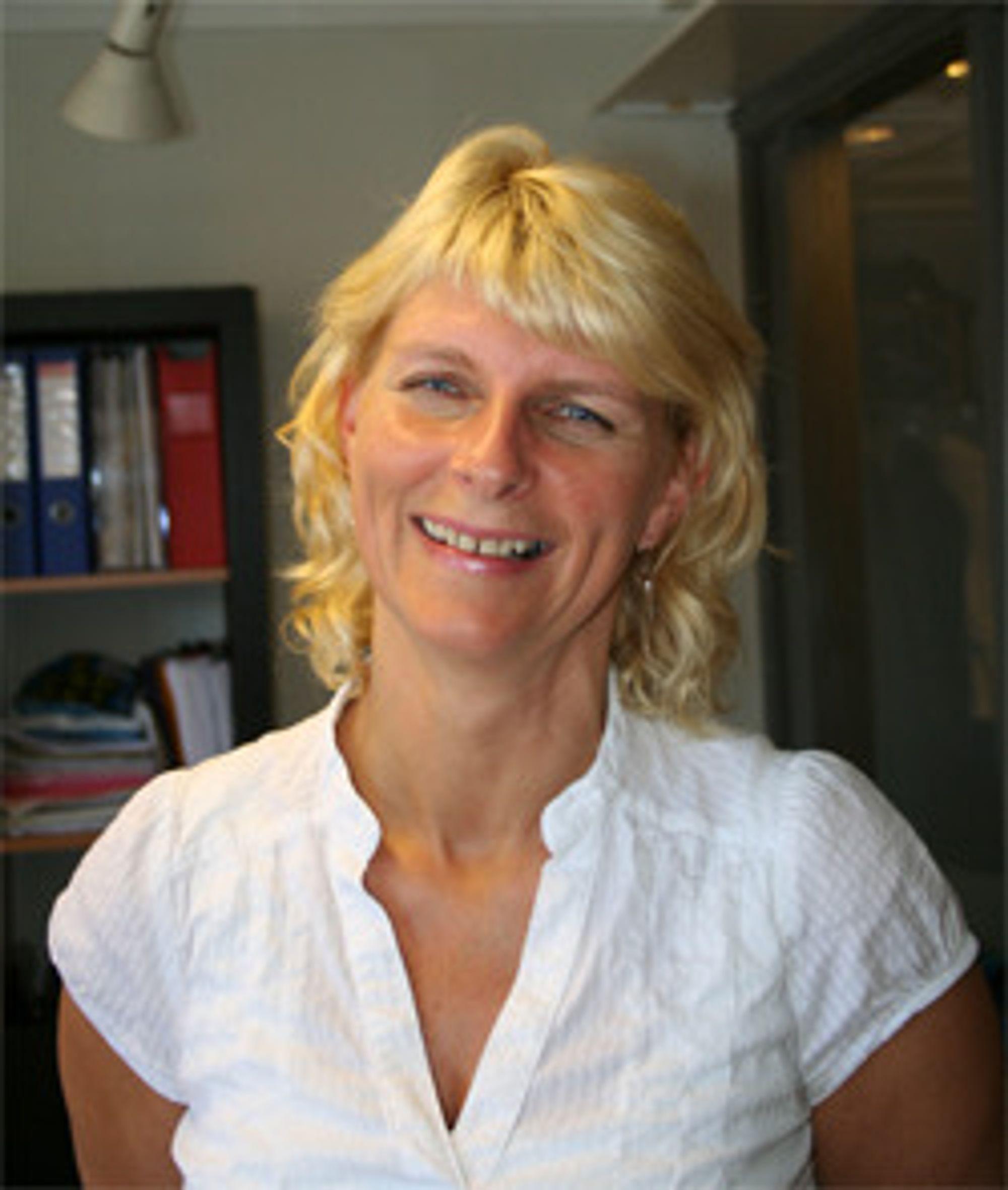 Marit Collin sier hun har et glimrende utgangspunkt, med «dyktige kollegaer, fornøyde kunder og en god økonomi».