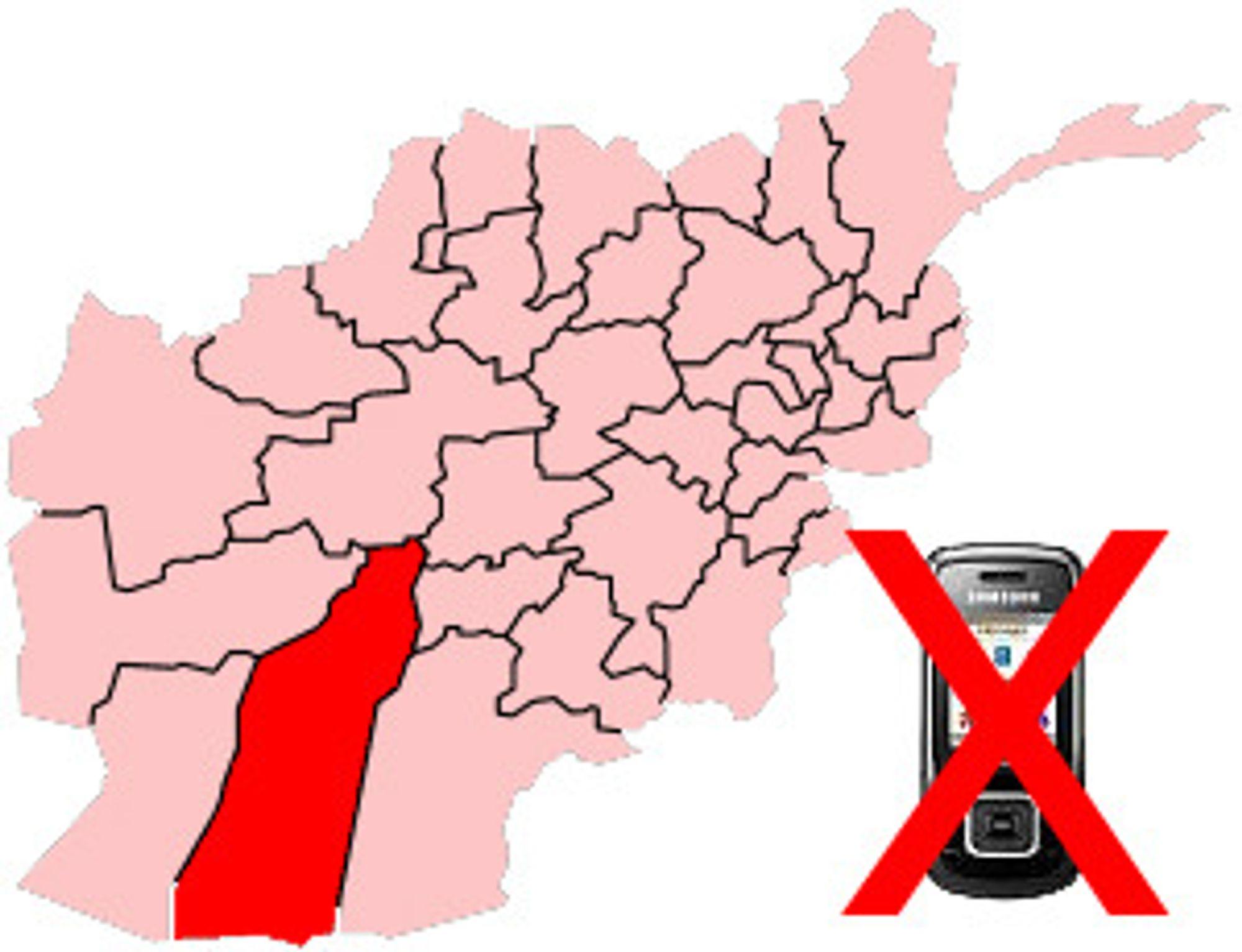 Helmand-provinsen er helt sør i Afghanistan.