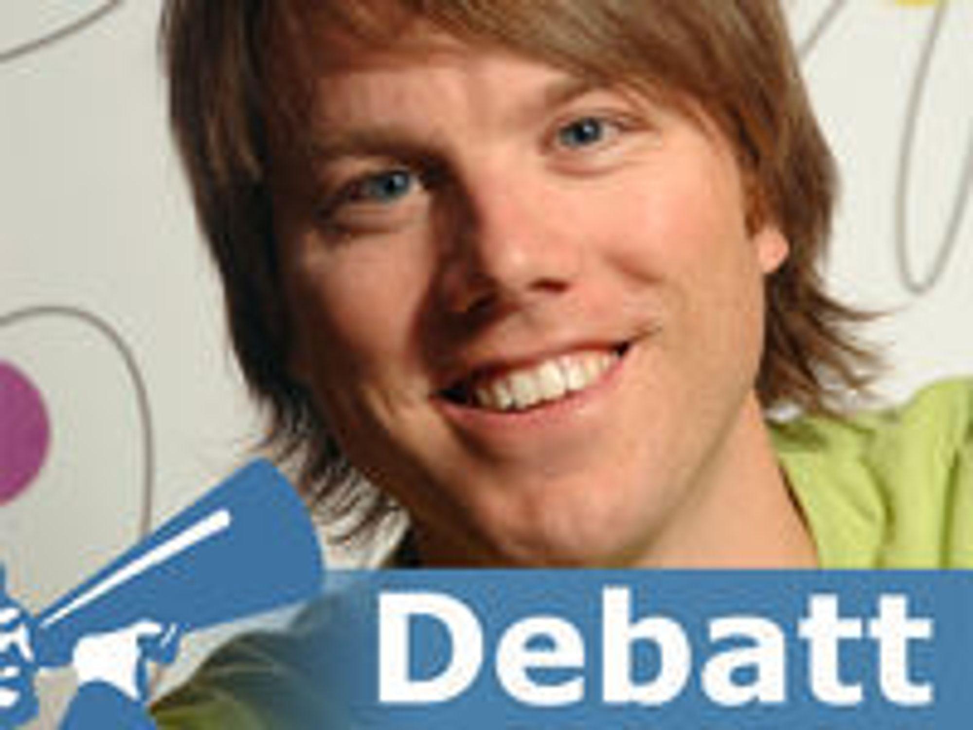 Martin Bekkelund er utviklingsleder i Friprogsenteret.