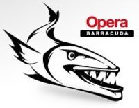Logoen for Barracuda-utgaven av Opera