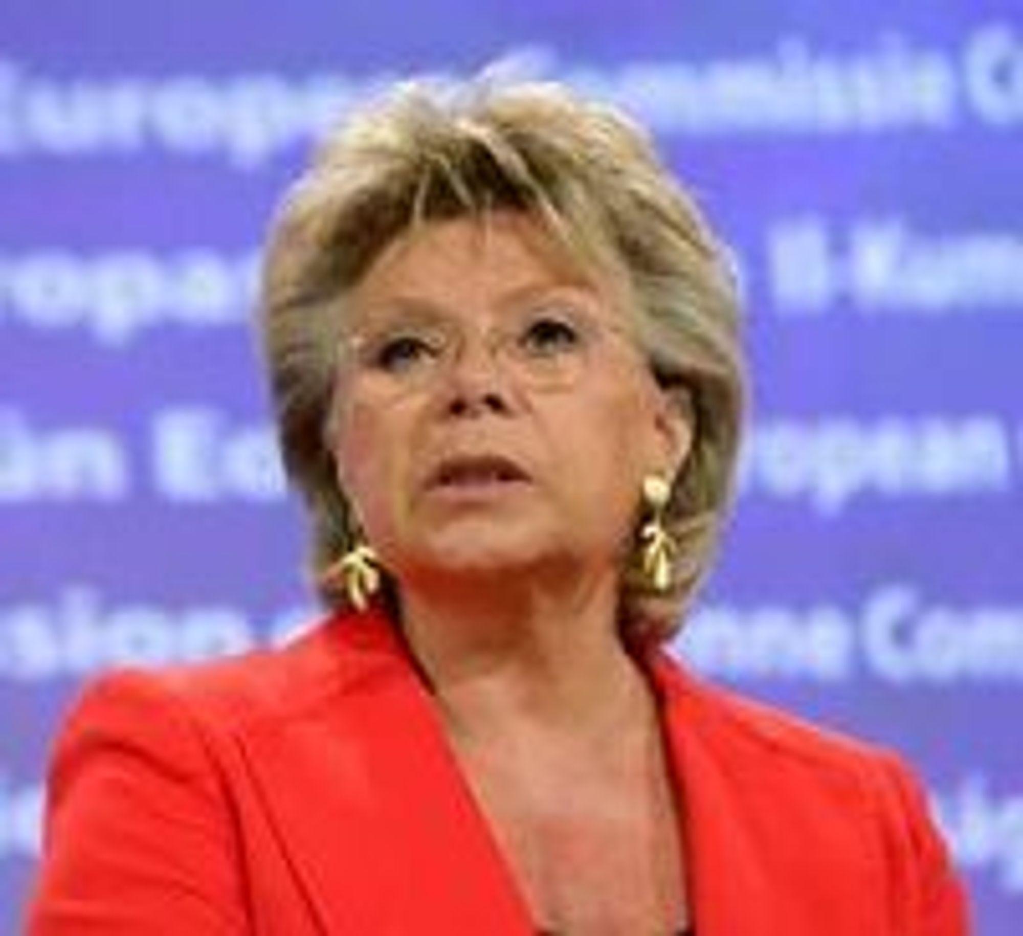 Som justiskommissær har Viviane Reding det øverste ansvaret for personvernarbeidet i EU.