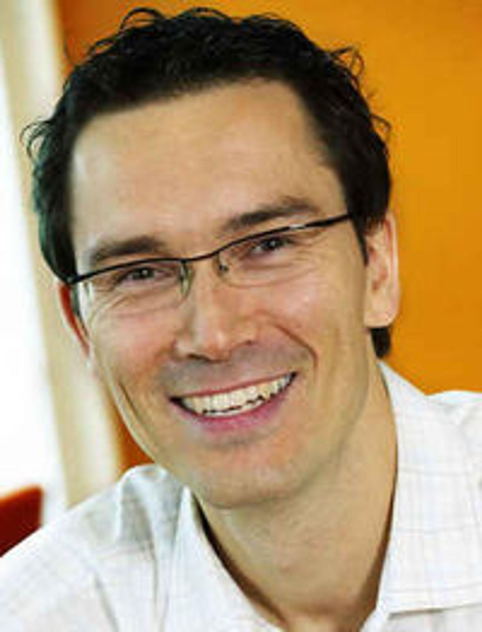 Petter Merok, teknologidirektør i Microsoft Norge.
