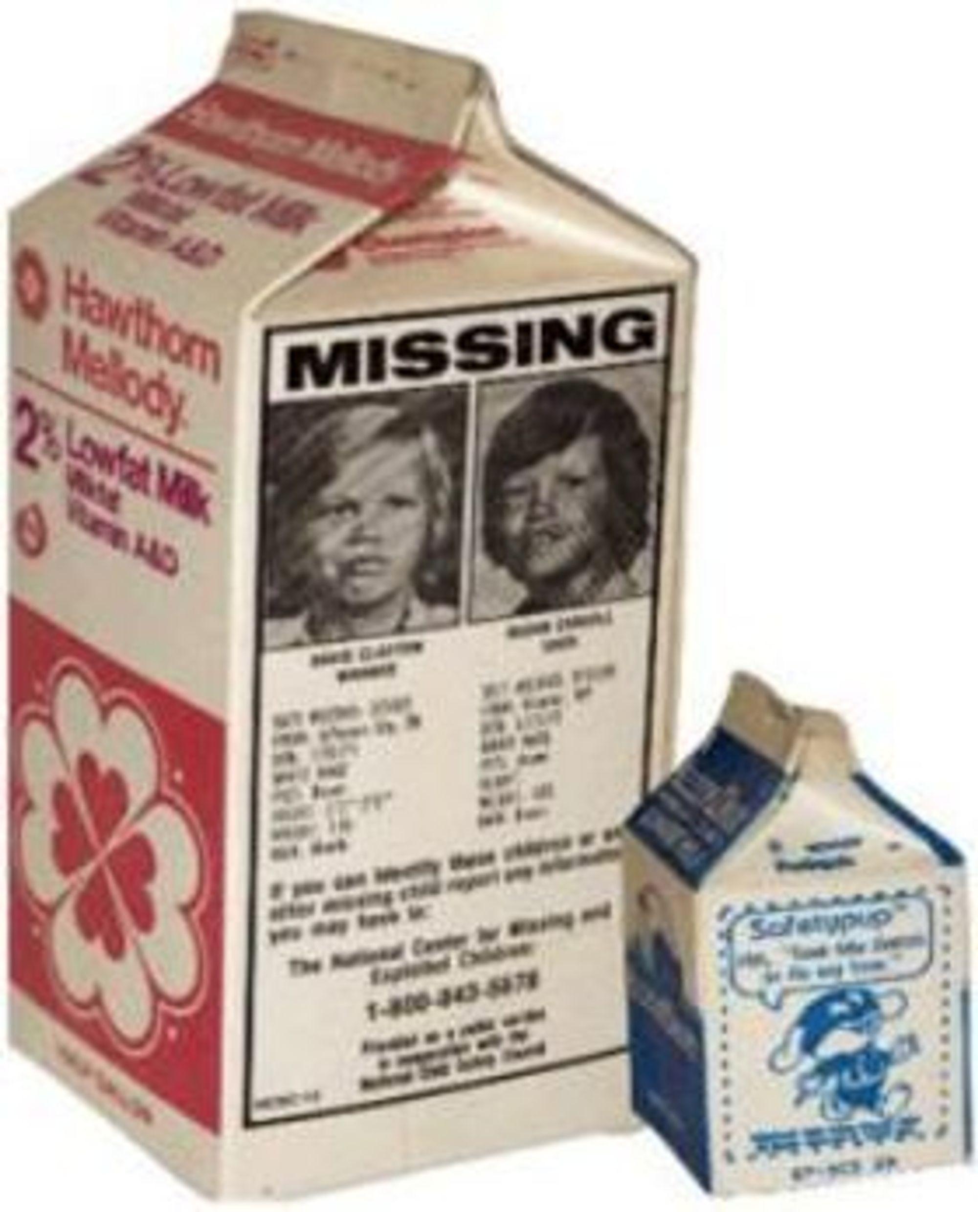 På 1980-tallet ble det vanlig å trykke bilder av savnede barn på melkekartonger i USA. Kan 404-feilmeldingssider på internett bli den moderne tids lerret for det samme?