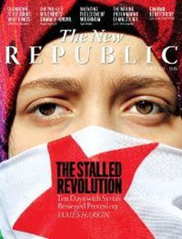 The New Republic, april 2012, før Chris Hughes tok over magasinet.