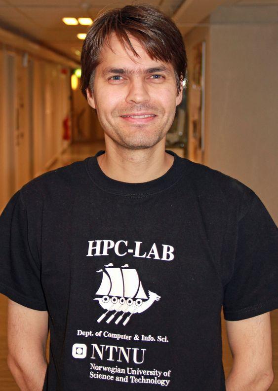 Rune Erlend Jensen er stipendiat og jobber med å forbedre kompilatorer.