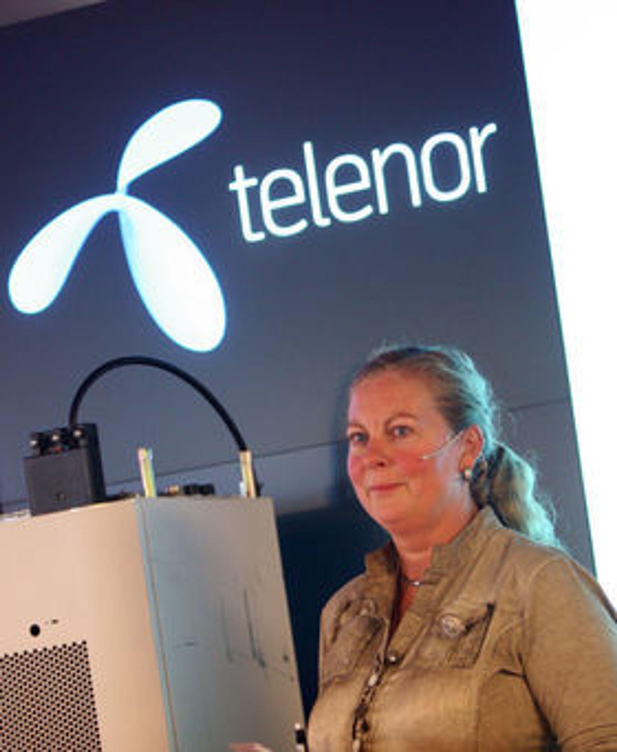 - At bransjen samarbeider om mobil lommebok er fordelaktig for kundene, sier Telenor-direktør Berit Svendsen.