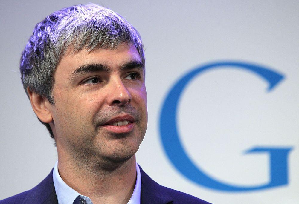 Larry Page, toppsjef i Google, leverte denne kvartalstall som var svakere enn det analytikerne hadde ventet, men Wall Street var likevel fornøyd med tilstanden.