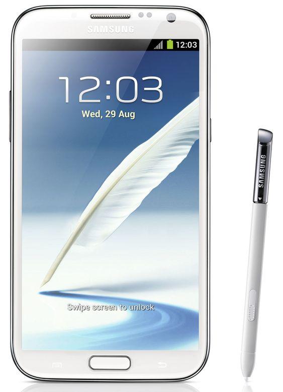 Samsung Galaxy Note II leveres med stylus og enda litt større skjerm enn forgjengeren.