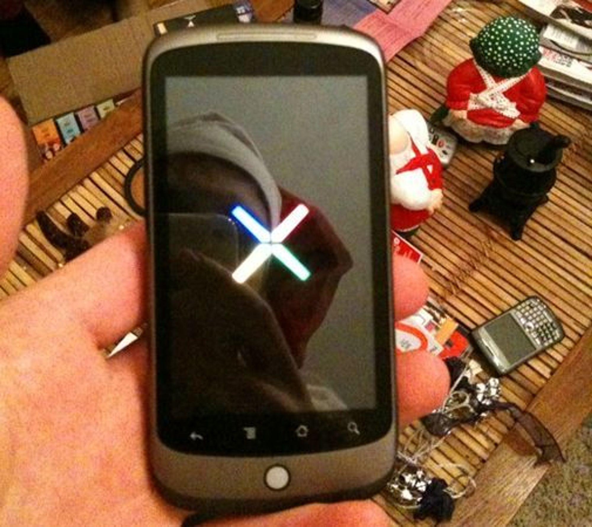 Uoffisielt bilde av Google Nexus One