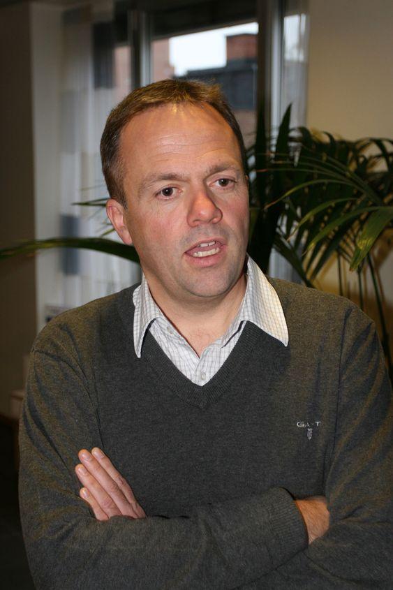 Bjørn Olstad leder Fast og resten av Microsofts forretningsområde for bedriftsrelatert søk.