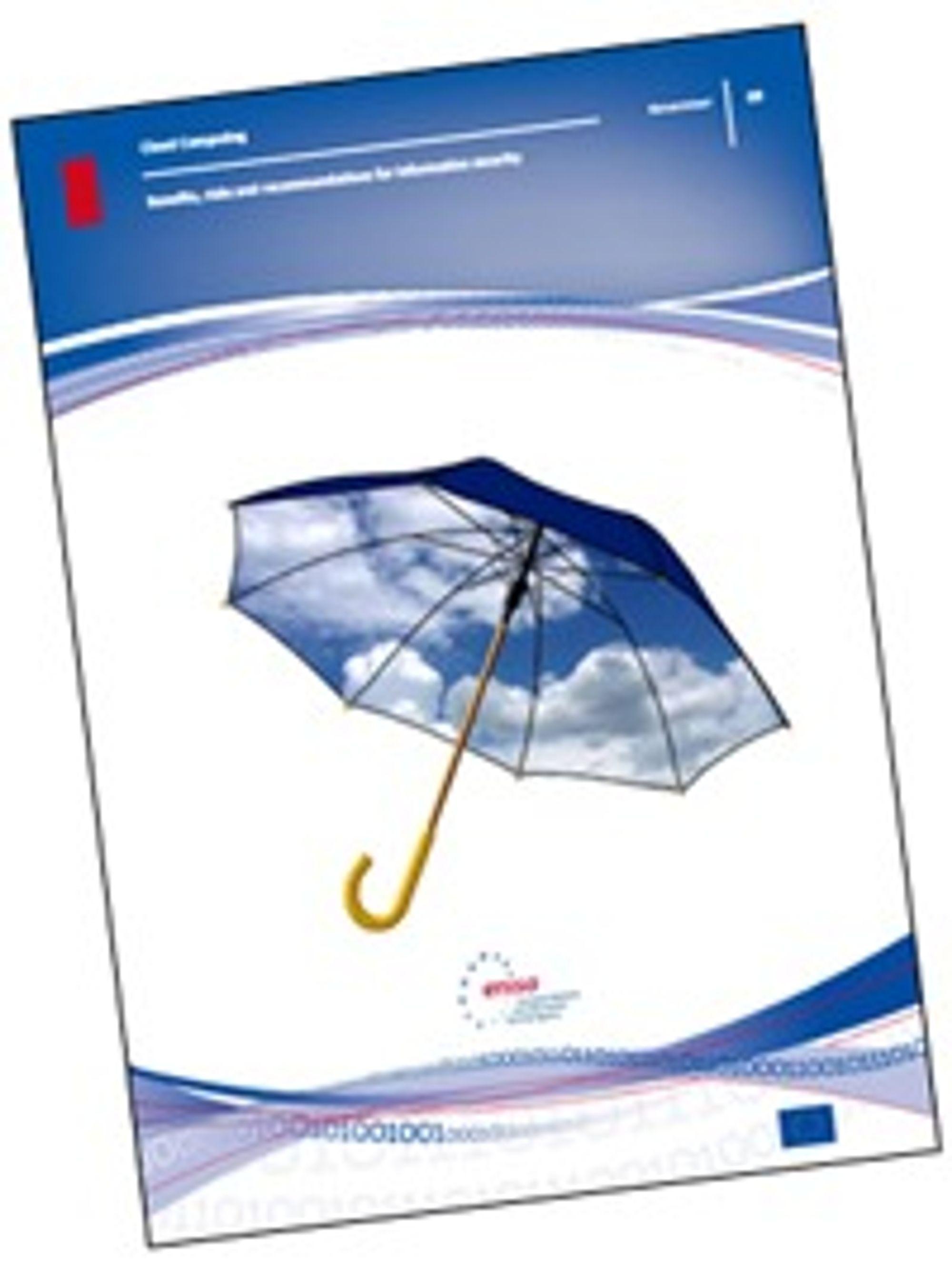 Enisa-rapporten om sikkerhet i nettskyen kan lastes ned fra EU-byråets nettsted.