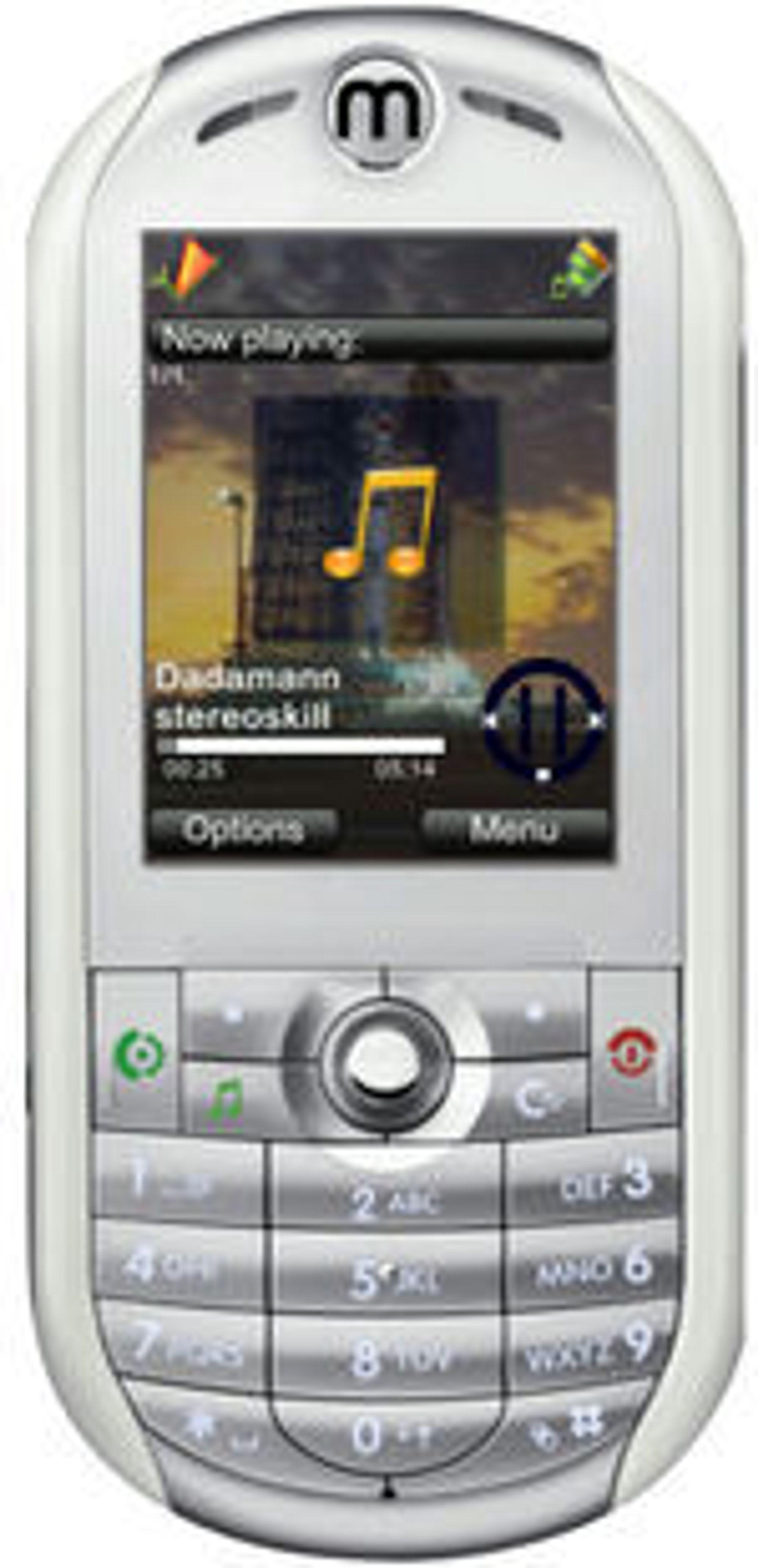 Programvareløsningen Mimria tilpasses ulike mobiltelefoner i feature-klassen.