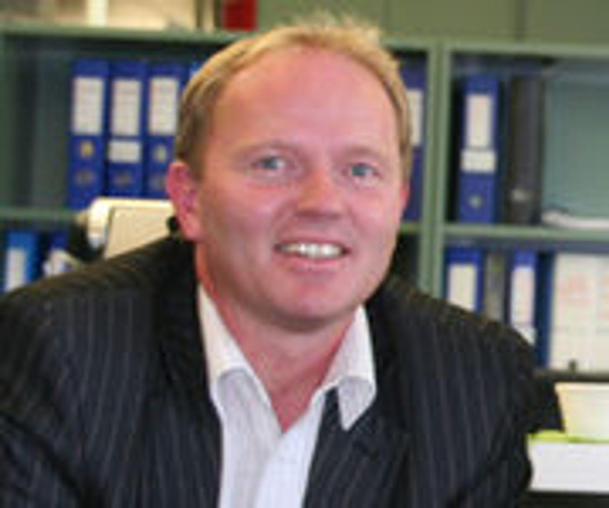 Håper på millioner av nye kunder: Sysco-sjef Frank Vikingstad.