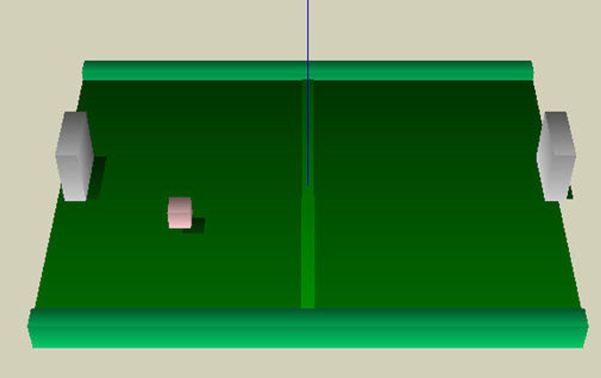3D-ping-pong basert på O3D er blant de enkle eksemplene Google viser fram.