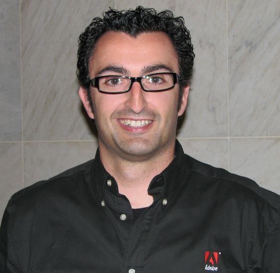 Enrique Duvos, plattformevangelist i Adobe.