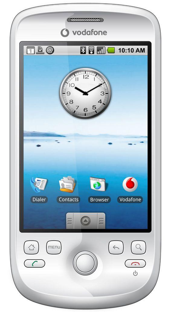 HTC Magic-mobilen som skal selges av Vodafone.