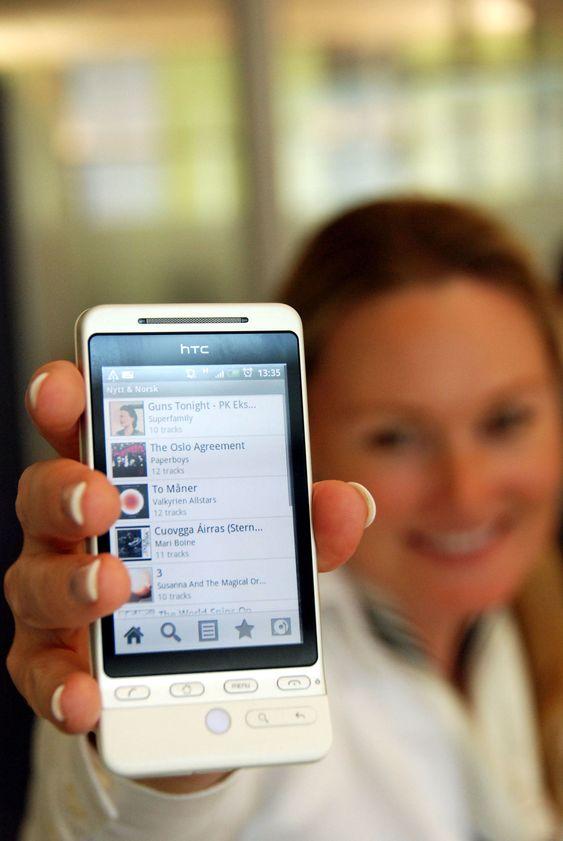 Du må ha en mobiltelefon med Android for å prøve mobilutgaven.