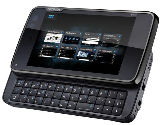 Nokia N900 er selskapets kommende, Linux-baserte toppmodell.