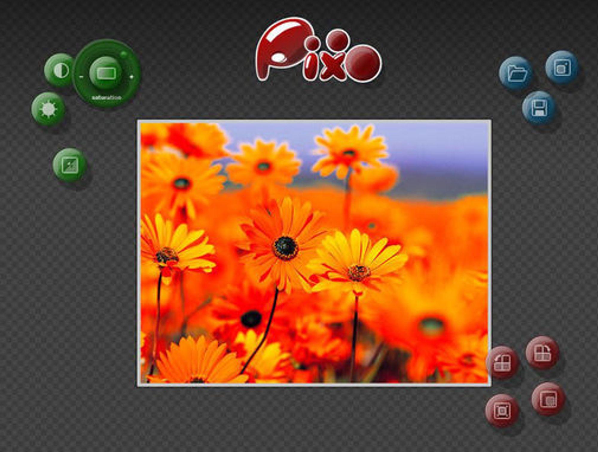Enkelt bilderedigeringsverktøy laget med Silverlight 3 Beta