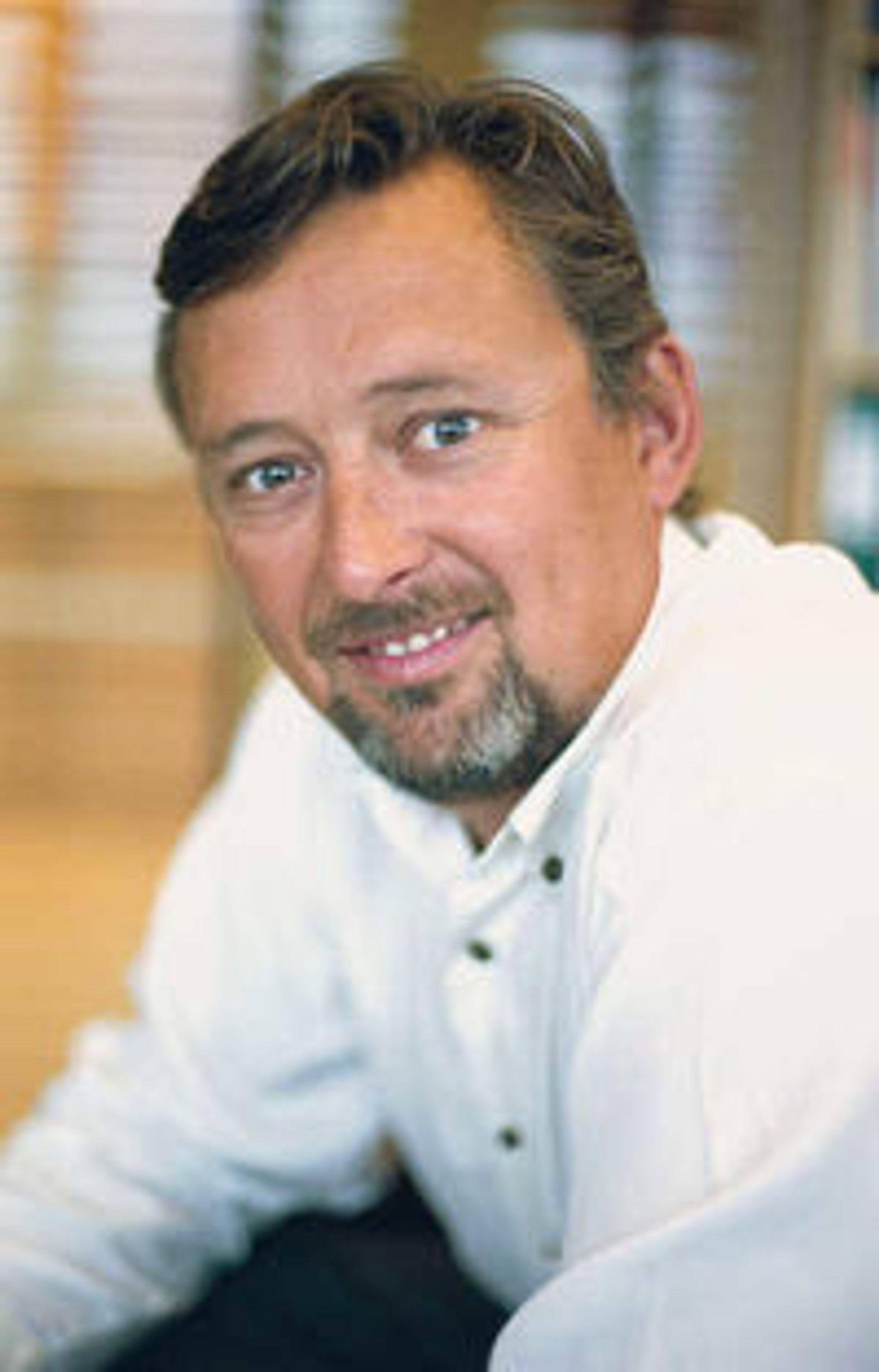 Adm.dir Steinar Sønsteby i Atea.
