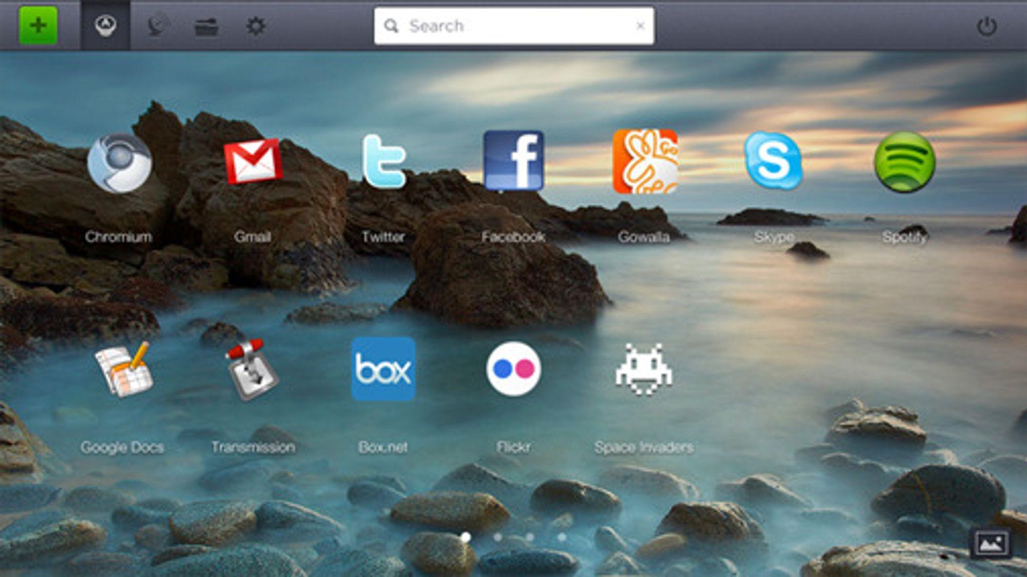 Operativsystemet Jolicloud 1.1 bygger på Ubuntu og gir enkel tilgang til et bredt tilbud av applikasjoner, samt verktøy for å mestre sosiale nettjenester.