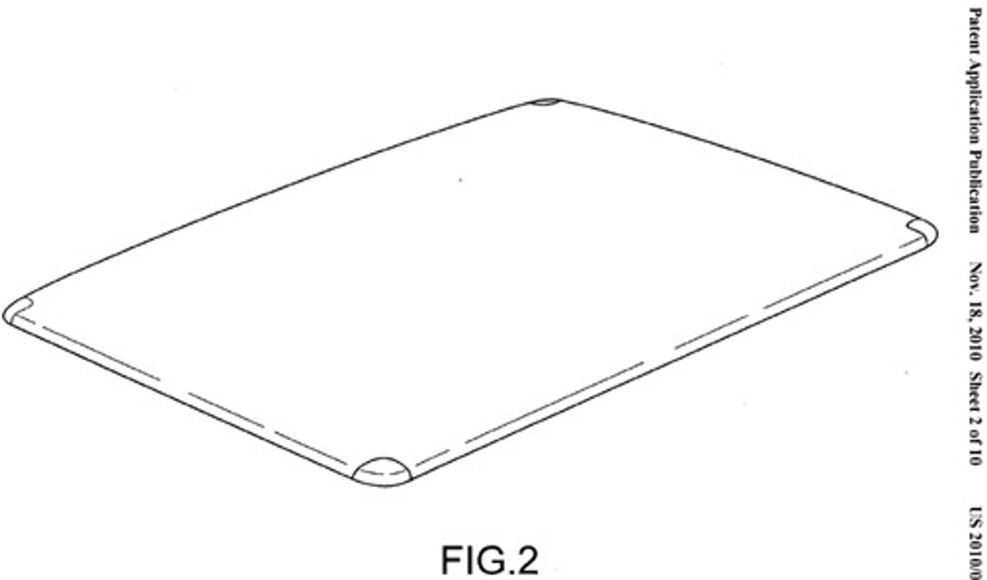 iPad 2 kan bli lettere ved å bytte fra aluminium til karbonfiber.