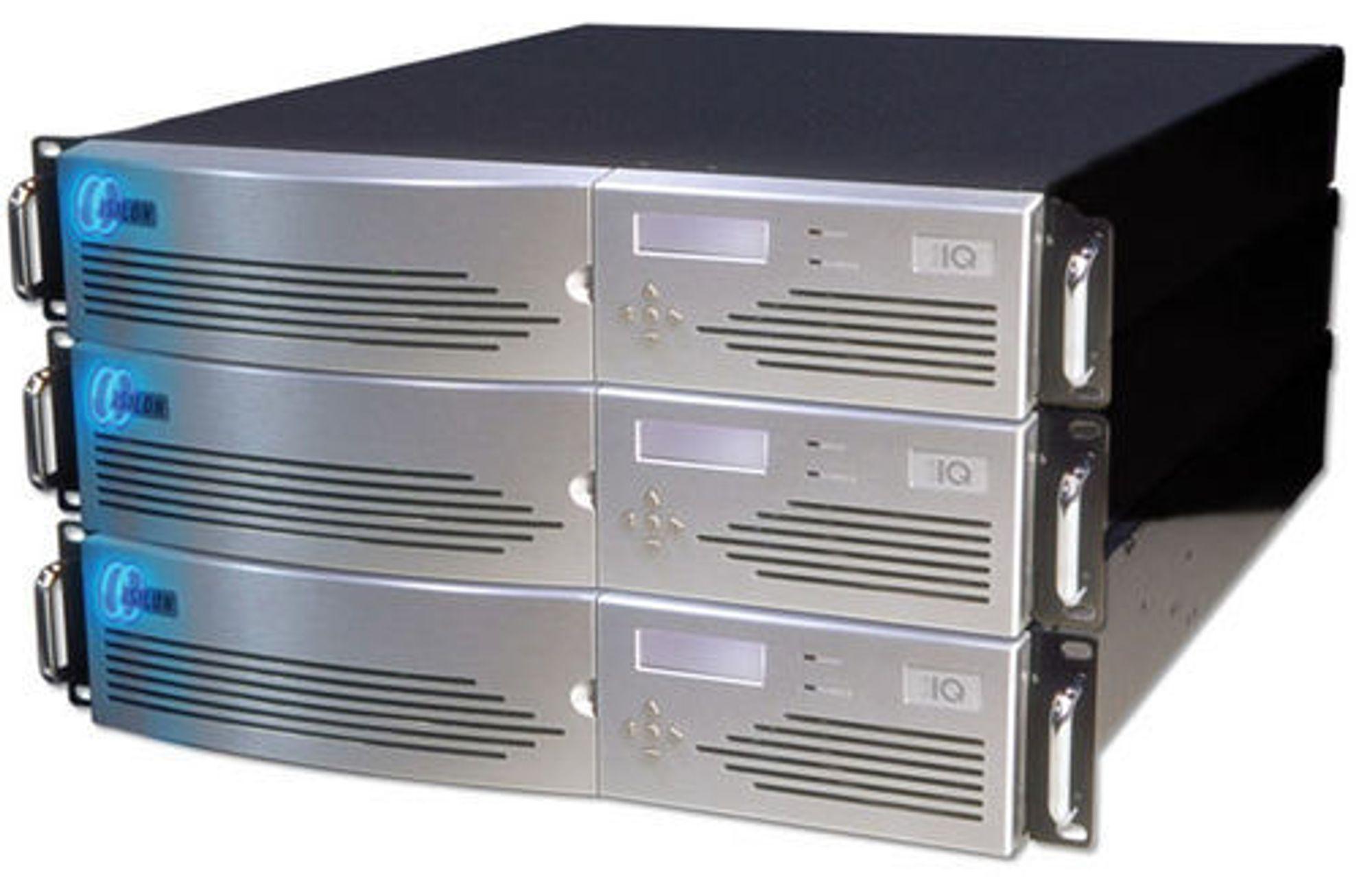 Isilon IQ beskrives som kjernen i IT-infrastrukturen til Sony.