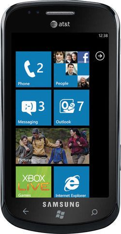AT&Ts utgave av Samsung Focus med Windows Phone 7.
