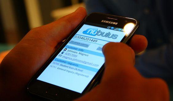 Nubulus er også tilgjengelig på Android, Googles plattform for mobiltelefoner.
