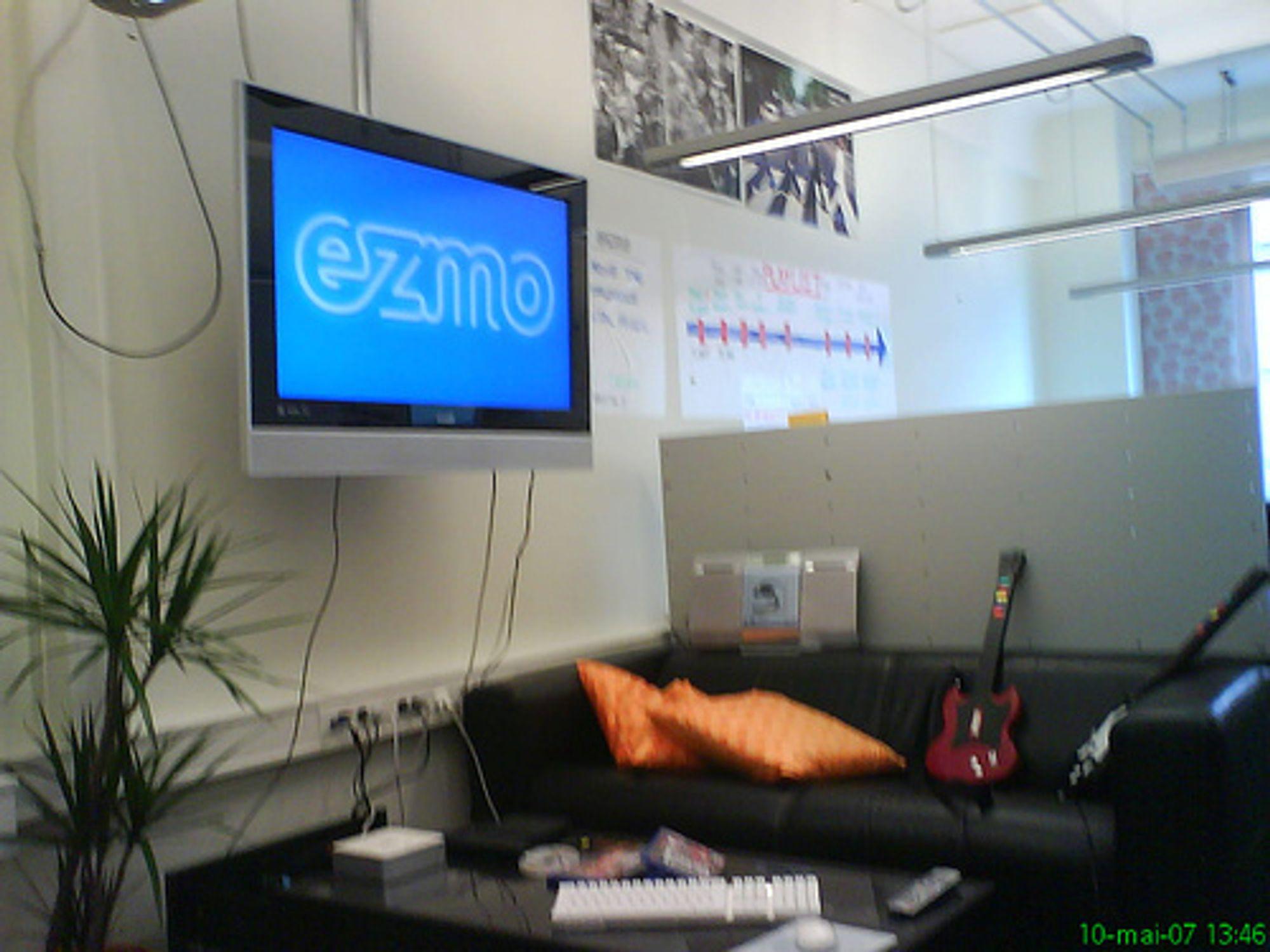 I lokaler som dette hadde Ezmo-folkene det rett og slett for godt.