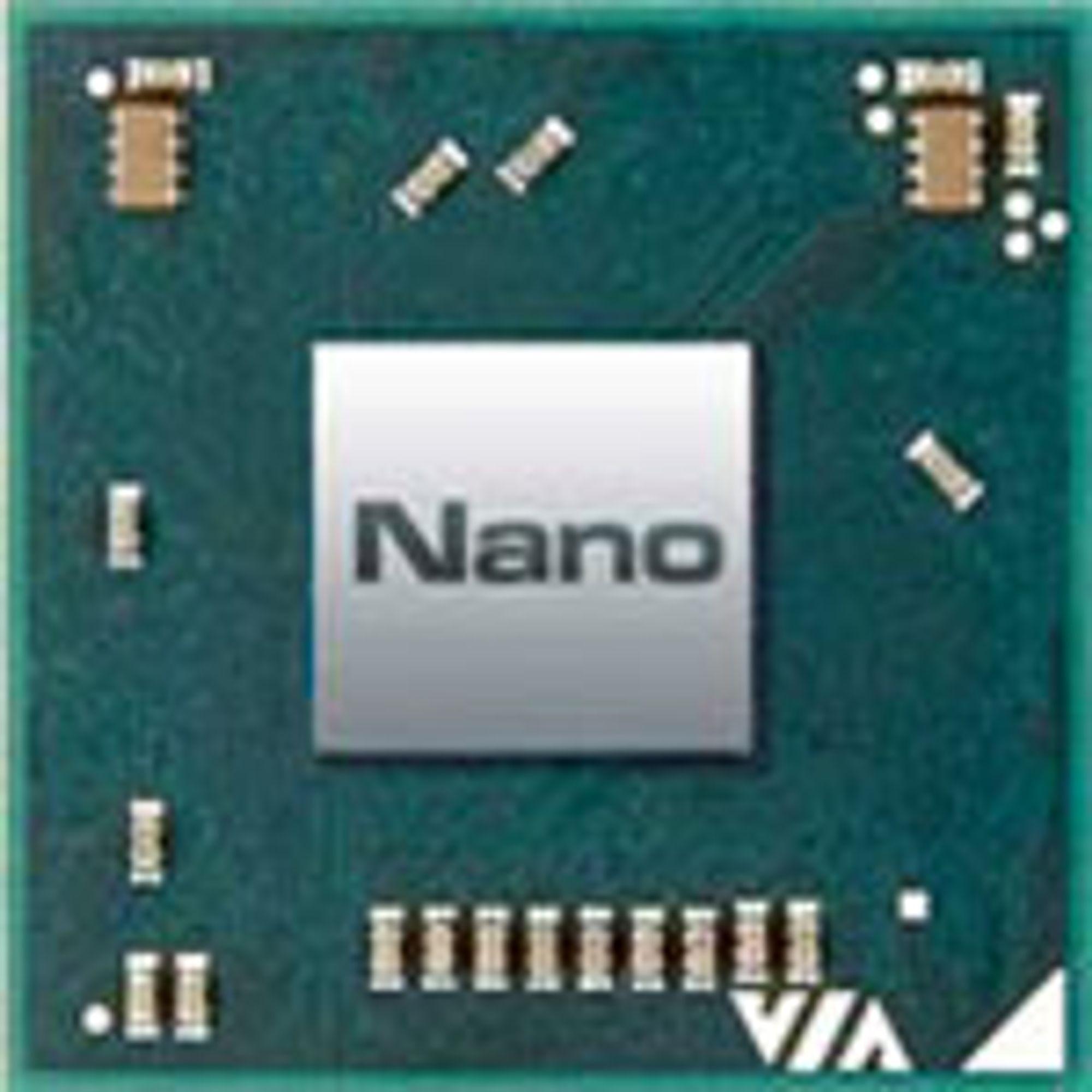 Dagens Nano-prosessor fra Via.