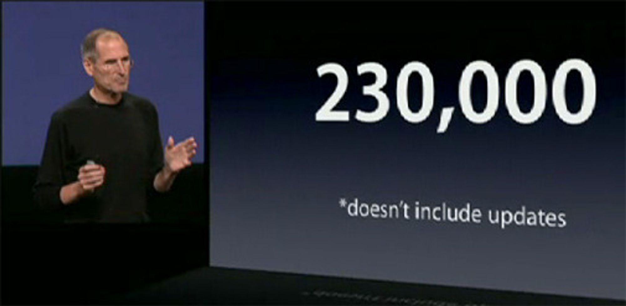 Trolig aktiveres det for tiden omtrent like mange iOS-enheter som Android-enheter hver dag.