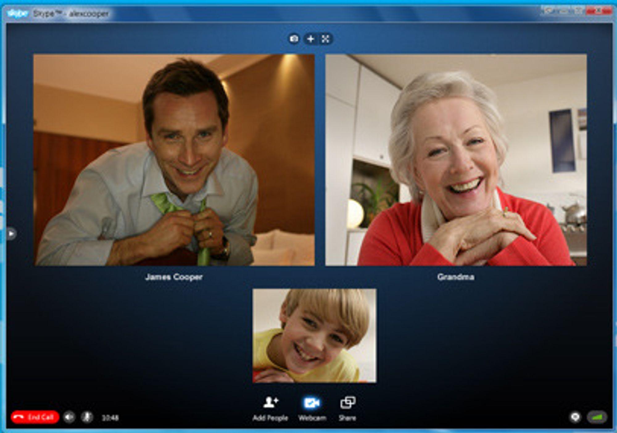 Skype utvider videokonferansemulighetene i kommende versjon.