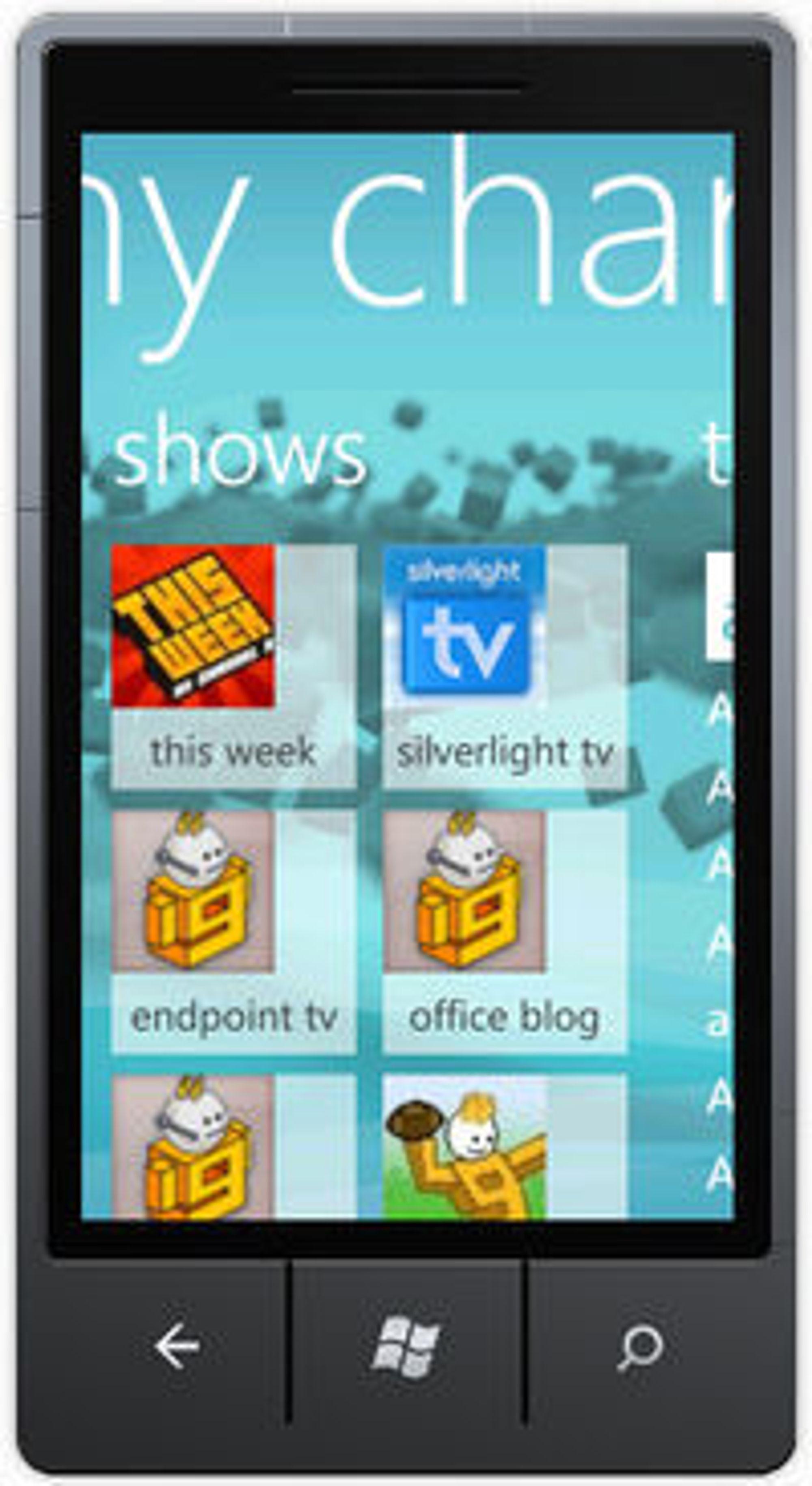 Streaming-appen myChannel9 er ett av to bidrag til konkurransen levert av Sigurd Snørteland.