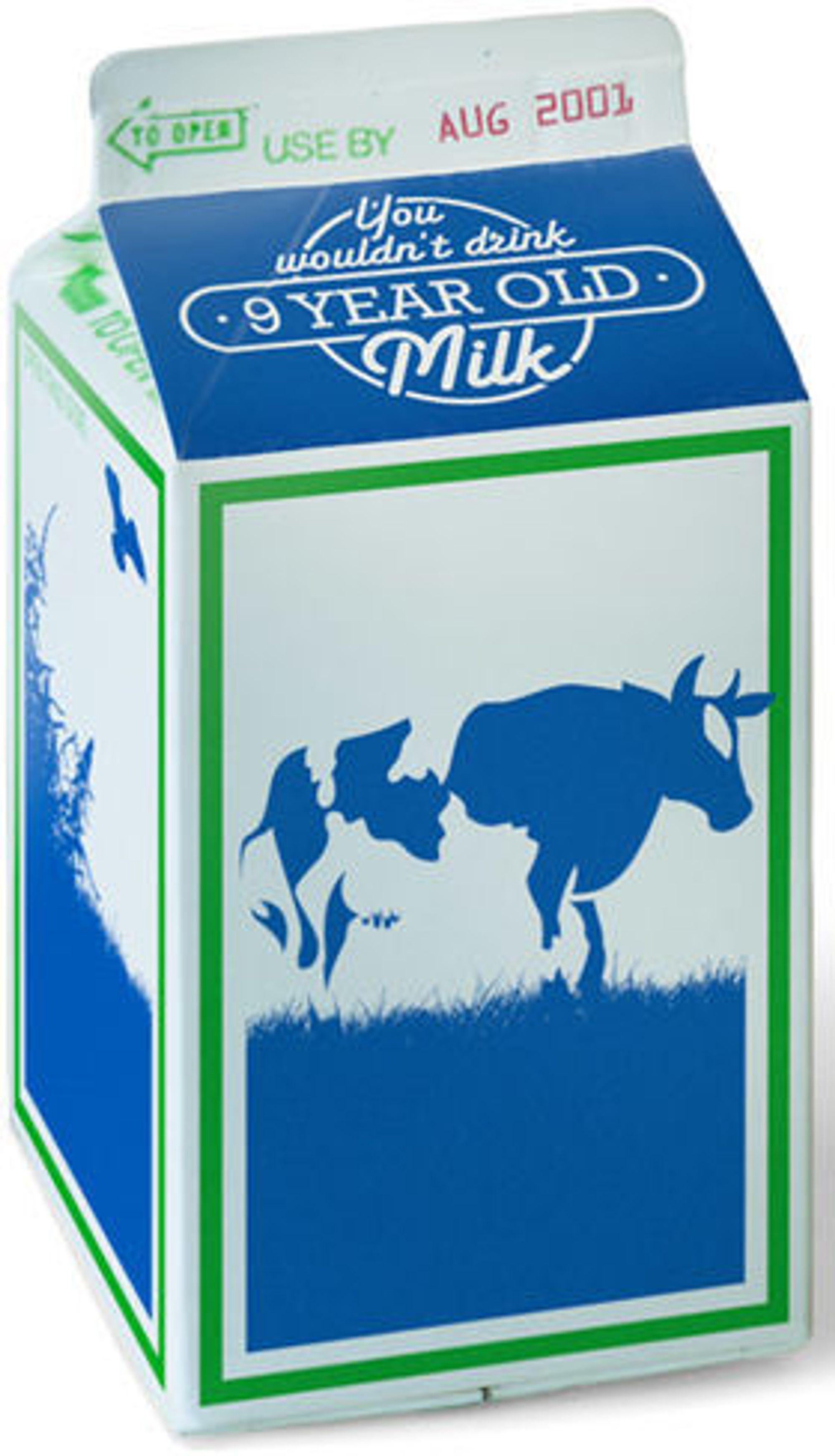 Microsoft sammenligner IE6 med (den gang) ni år gammel melk.