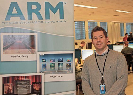 Kjetil Sørensen er daglig leder for ARM Norway. Det er her ARMs Mali-grafikkprosessorer designes.