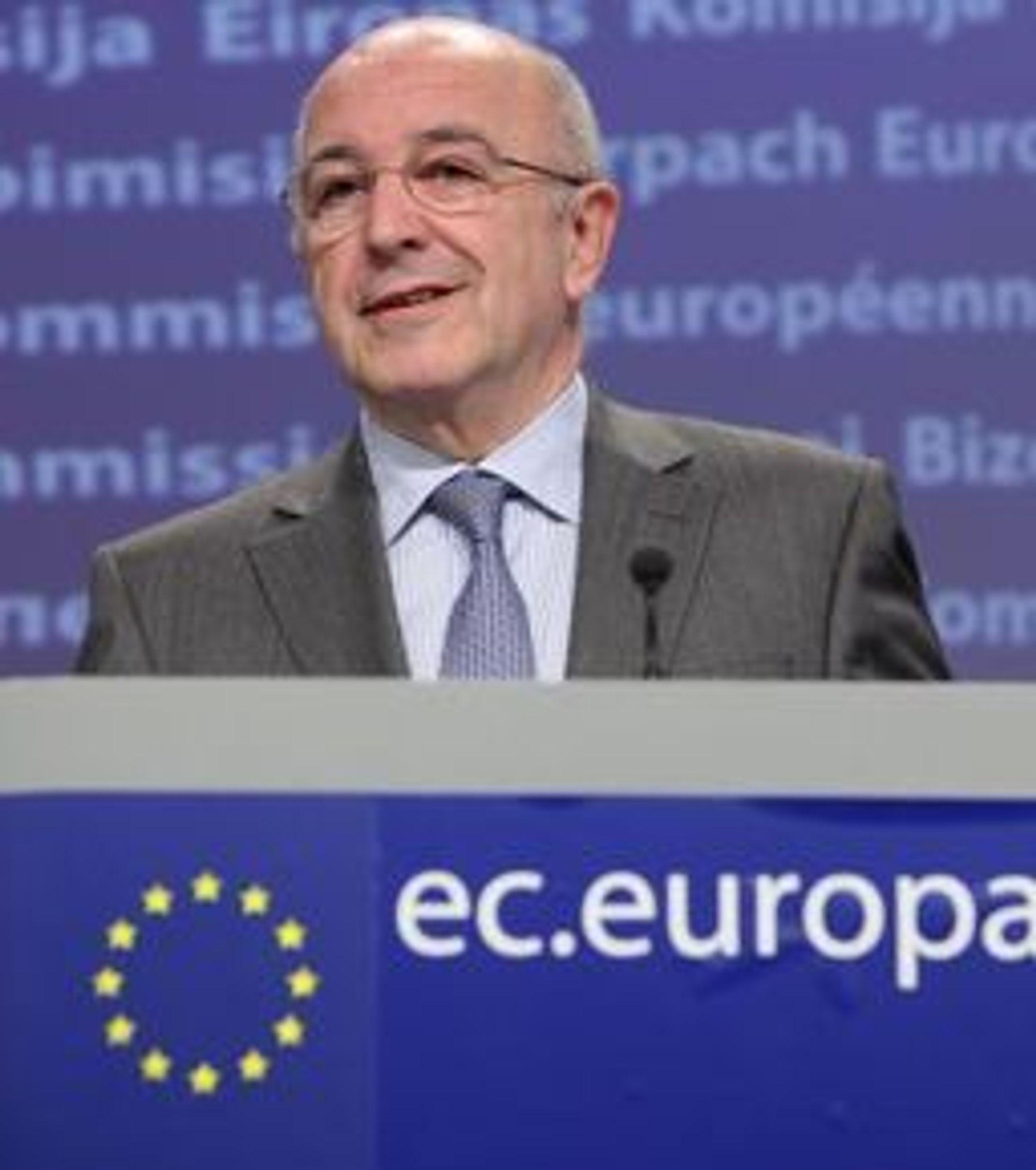 EUs konkurransekommissær Joaquìn Almunia skal være innstilt på et forlik.