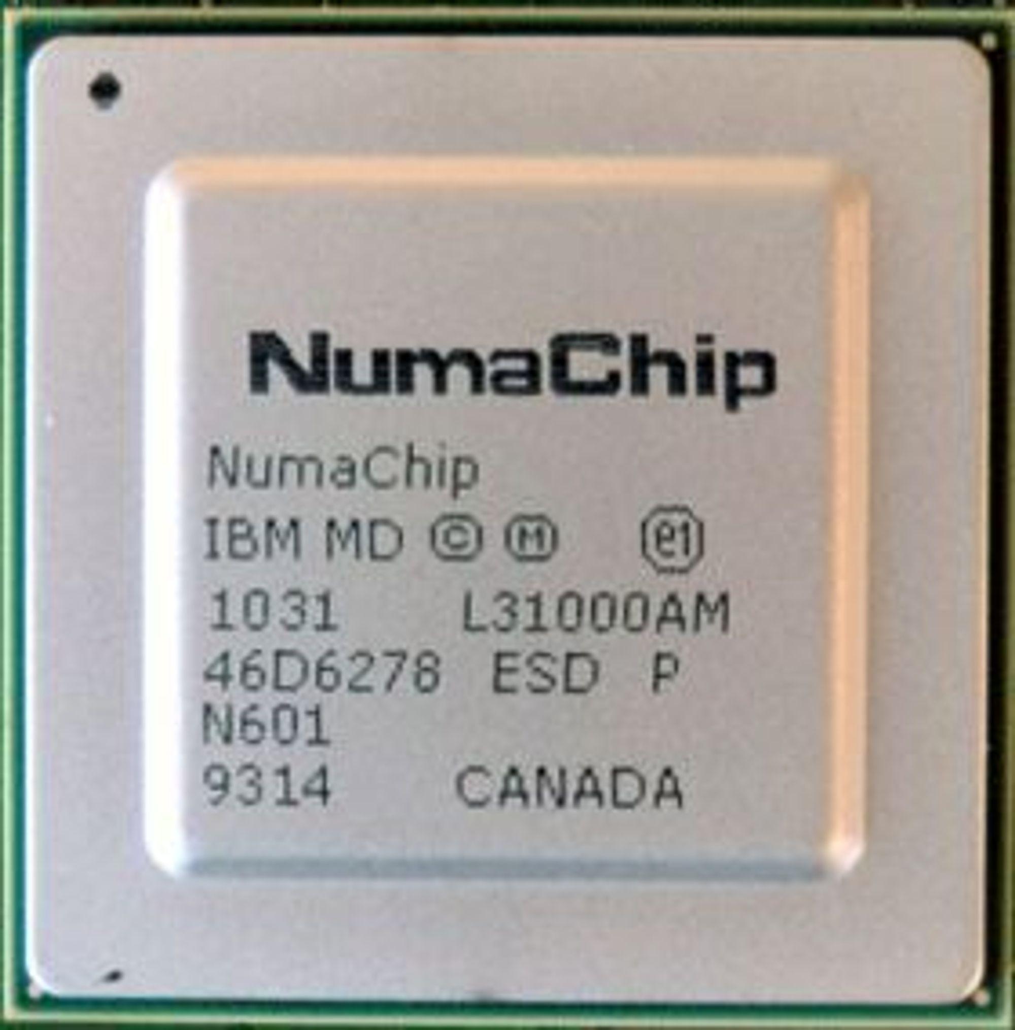 Brikken NumaChip er NeumaScales viktigste produkt.