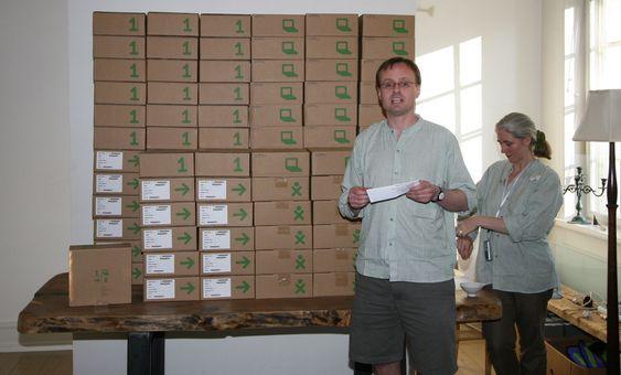 Håkon Wium Lie bestilte 100 OLPC-maskiner.