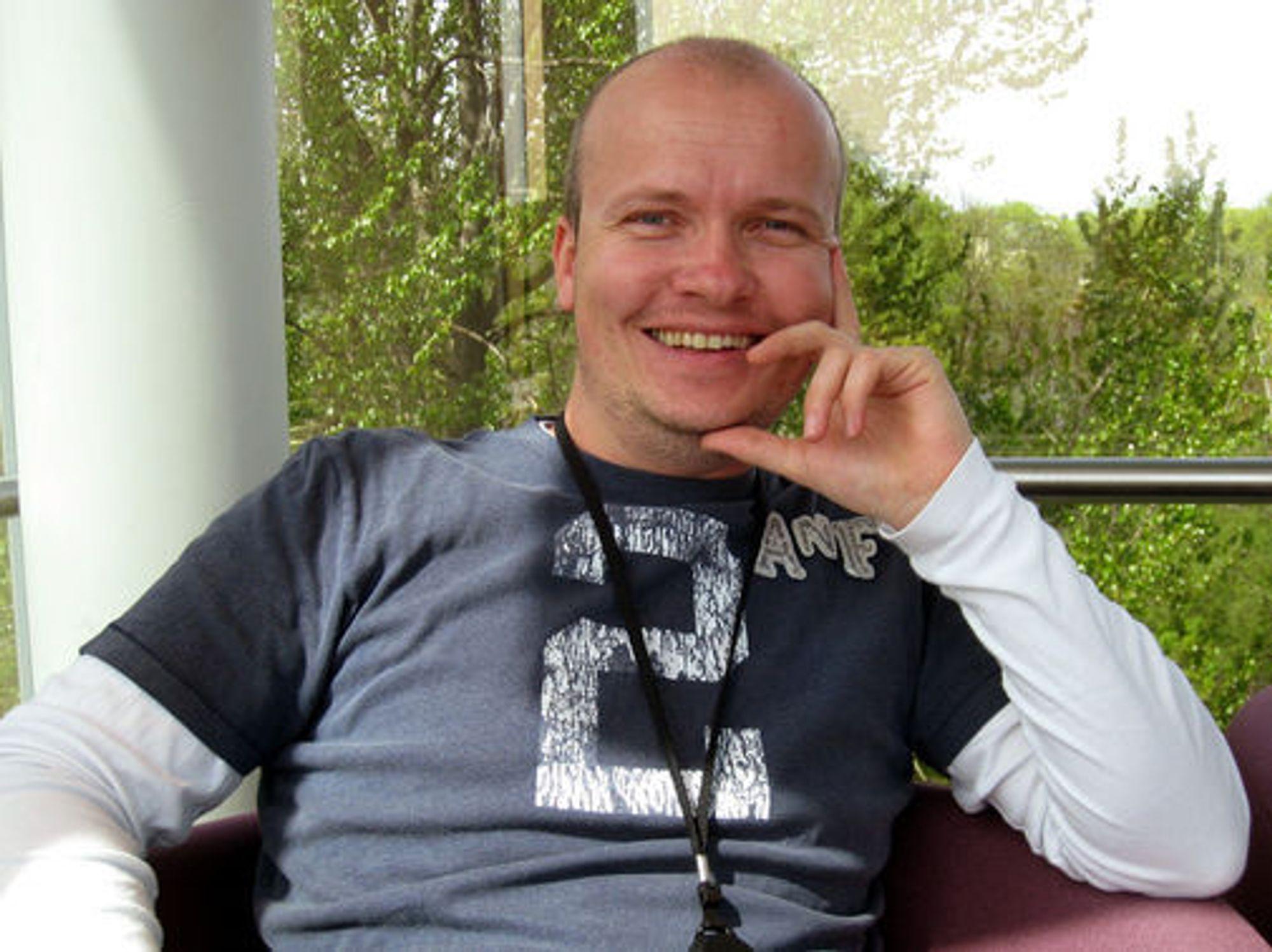 Rune Grothaug, markedssjef for utviklere i Microsoft Norge.