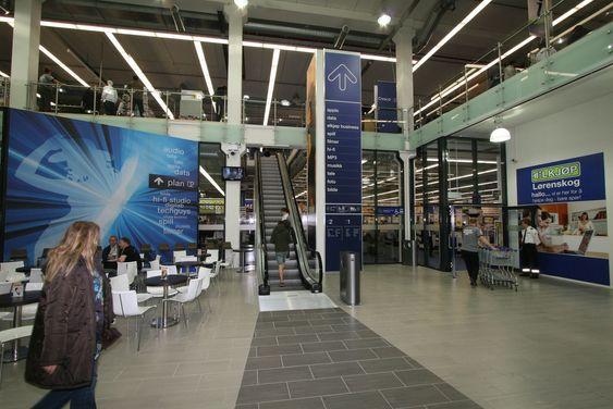 Elkjøp åpnet sin første Megastore i Norge i dag.