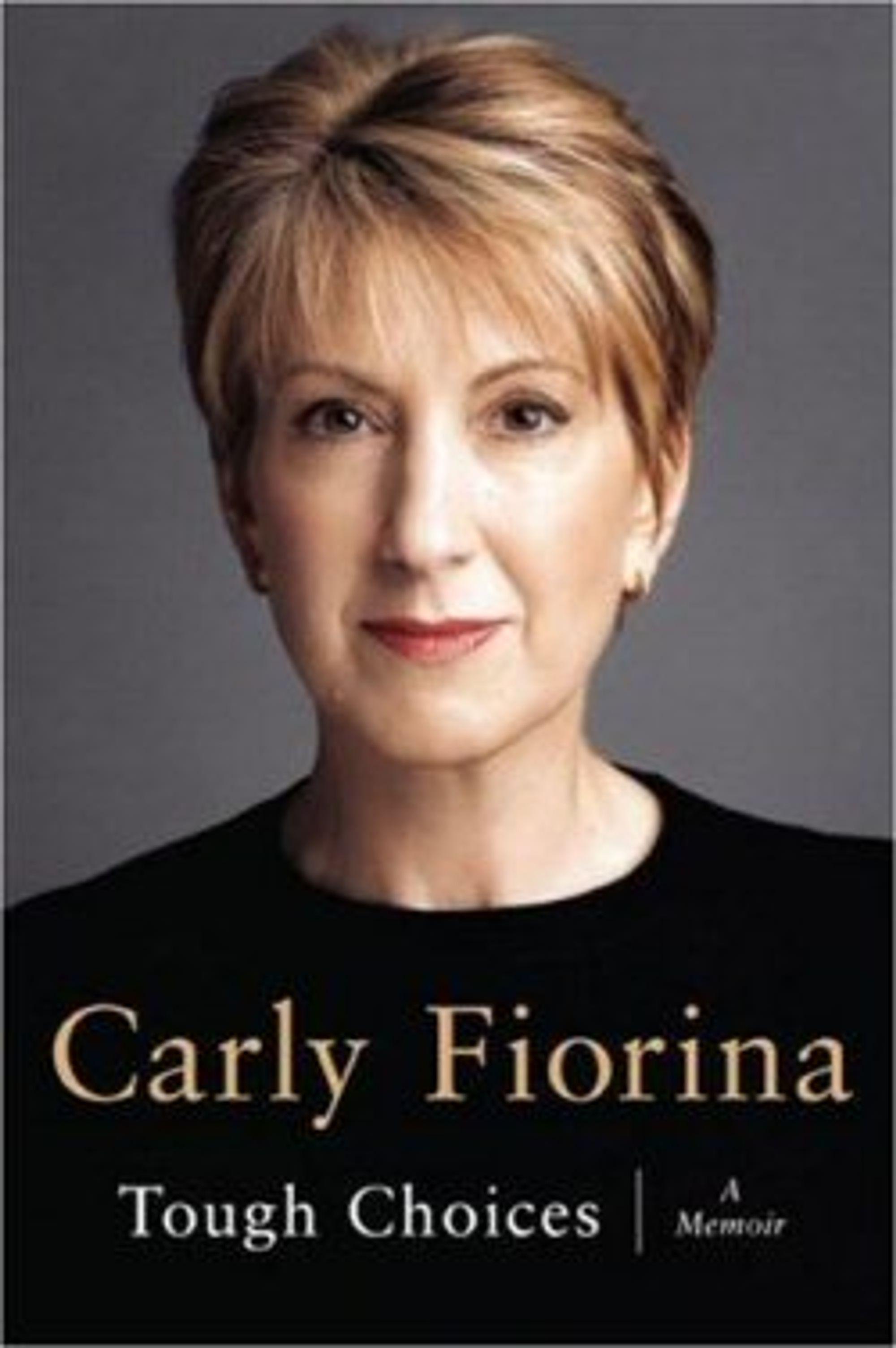I likhet med Barack Obama, skrev Carly Fiorina en selvbiografi før hun kastet seg inn i politikken.