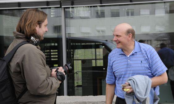 Ballmer lover å komme ofte på besøk til Norge nå som Fast er et Microsoft-selskap