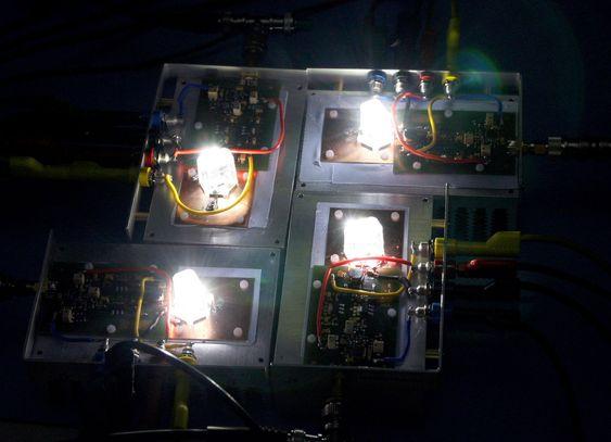 Siemens lager trådsløst datanettverk av LED-er