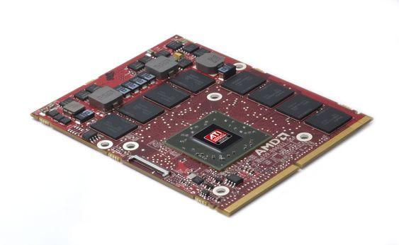 AMD ATI Radeon HD 5800 grafikkmodul (MXM)