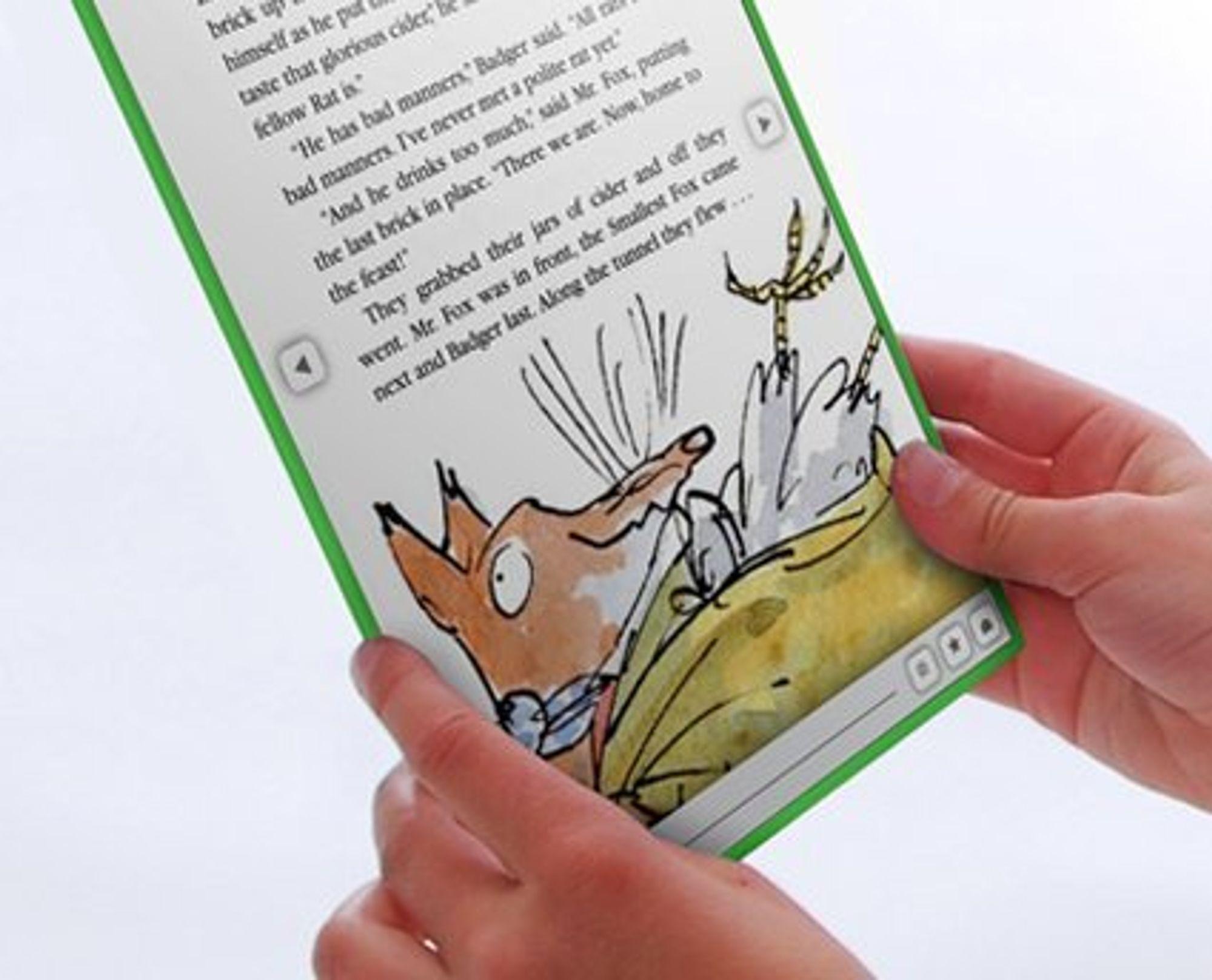 OLPC XO-3 som e-bokleser