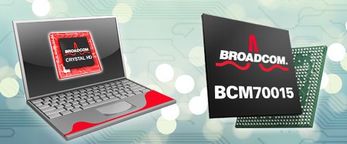 Broadcom Crystal HD-brikke for netbooks