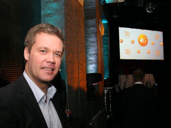 Fungerende produktdirektør Vegard Kjenner i Netcom